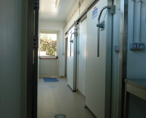 Tecnofreddo, minicaseificio, celle frigorifere