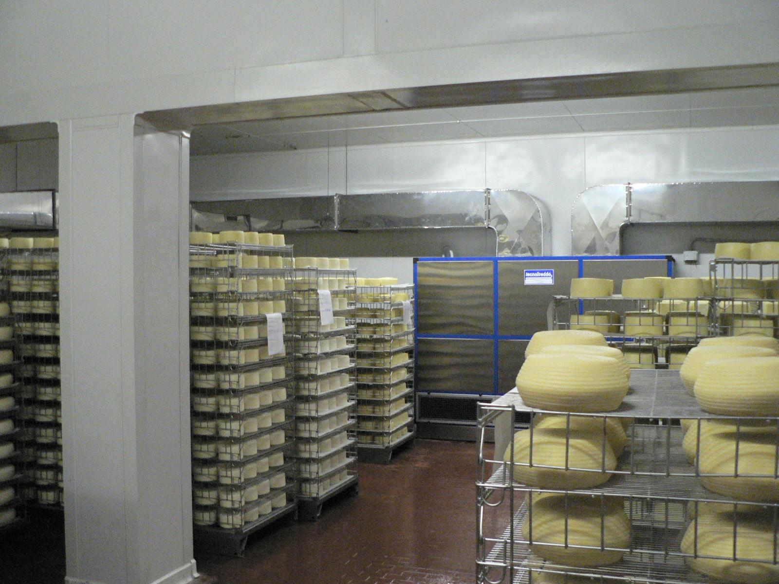 Tecnofreddo, stagionatura formaggi