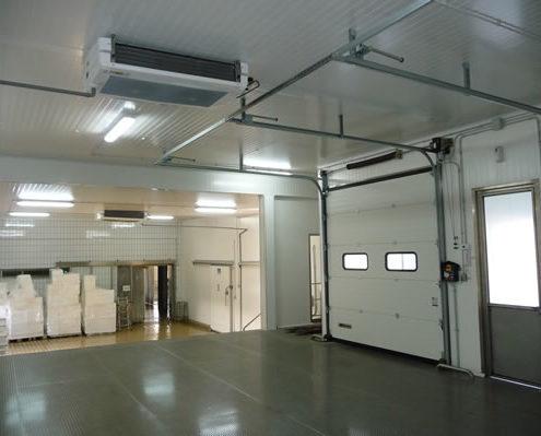 Tecnofreddo, ambienti isotermici, pannelli frigoriferi