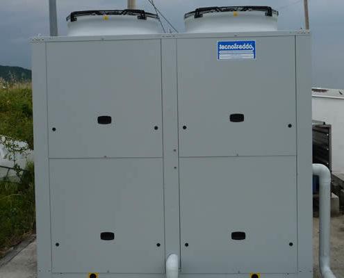 Tecnofreddo, impianti frigoriferi, refrigeratore di liquidi, chiller