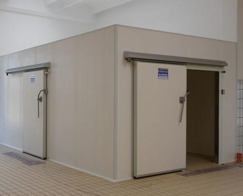Tecnofreddo, cella frigorifera, pannelli isotermici