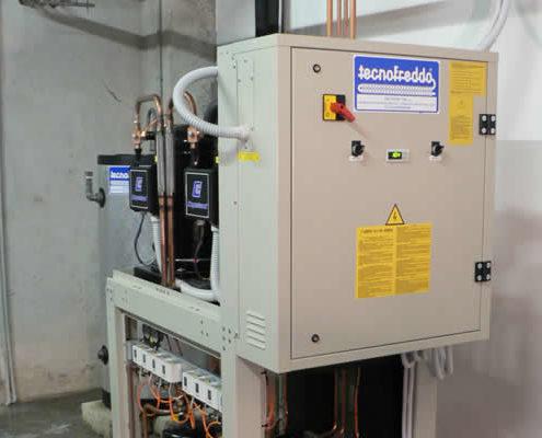 Tecnofreddo, impianti frigoriferi, refrigeratore di liquido, chiller