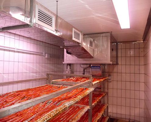 Tecnofreddo, impianti frigoriferi, asciugatura salumi, stagionatura salumi