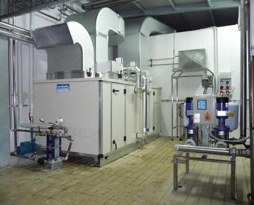 Tecnofreddo, Condizionamento, unità trattamento aria